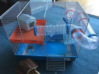 Ferplast HAMSTER CAGE, book and extra accessories