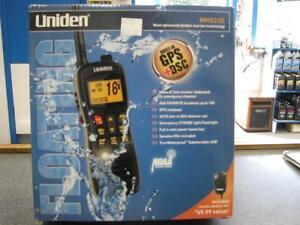 UNIDEN MHS235 - TWO WAY VHF MARINE RADIO - NEW