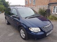 2008 Chrysler Voyager. Spacious 7-seater automatic. 49k miles, long MOT.