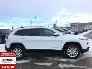 2017 Jeep Cherokee *LIMITED*4X4*NAVI*LEATHER