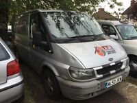Ford transit 2004 2.0 td excellent van 1 year mot tow bar reply lined nice van