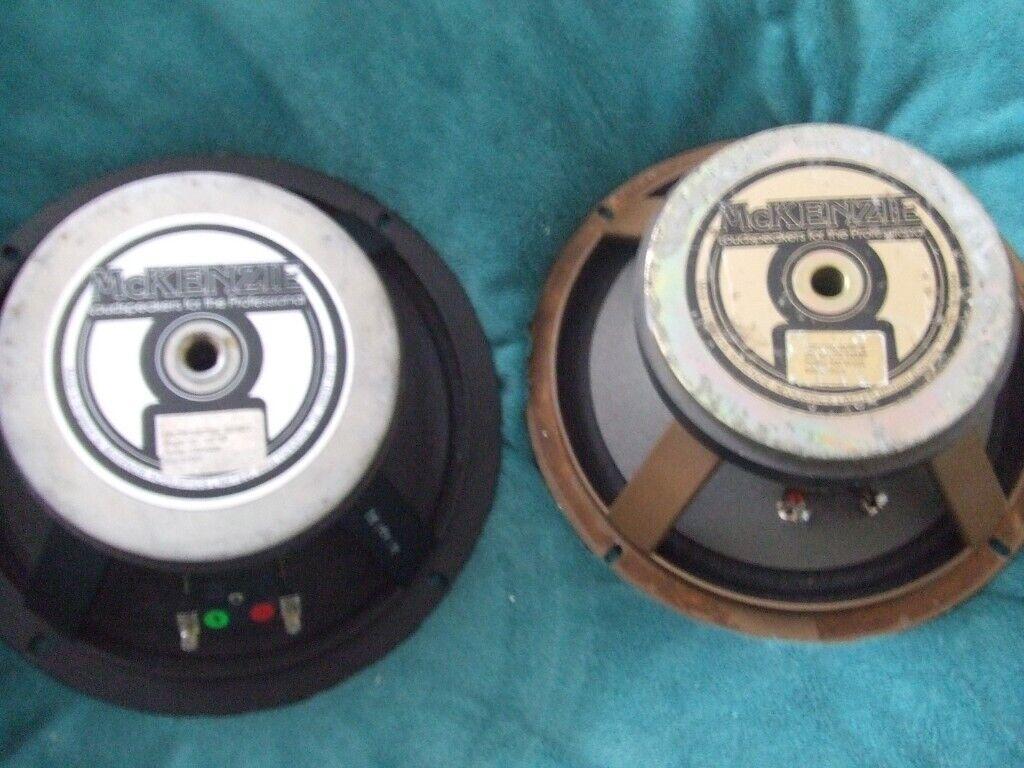 2 x mckensie 12 replacement speakers / drivers   in Wirral, Merseyside    Gumtree