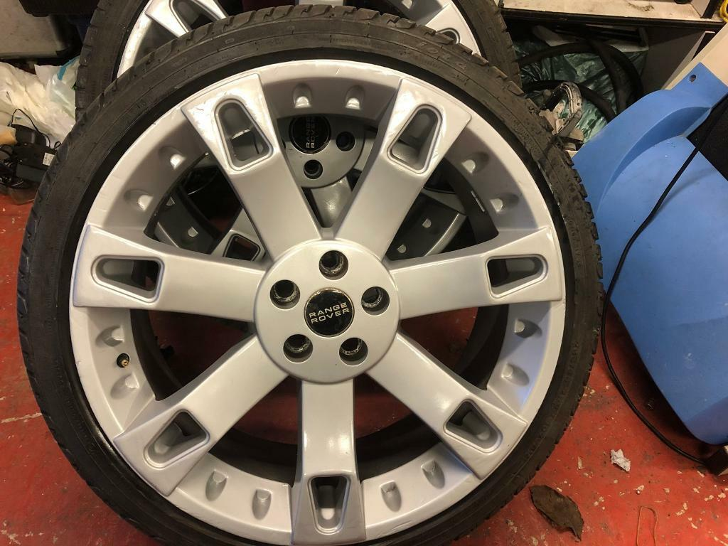 "22"" Rangerover Alloy wheel"