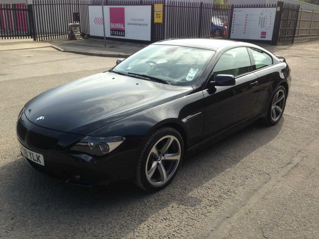 2008 BMW 635D BLACK M SPORT AUTO COUPE DIESEL | in Watford ...