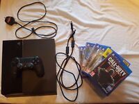 Playstation 4 500gb + load of games