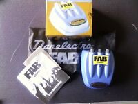 FAB Guitar Pedal Effects Button CHORUS danelectro boxed EXCELLENT CONDITION.