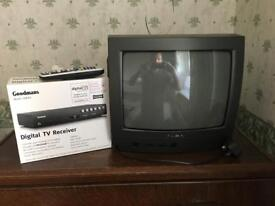 Small tv and crevice box