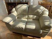 FREE 2 x two seater leather sofas