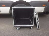 10U Flight Case [Extra Depth for larger Amcron Amplifiers], Mint Condition