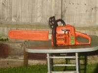Castor/alpina high quality heavy duty petrol chainsaw not Chinese