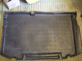 Citroen C3 Airdream 2014 boot liner tray - fits saloon models 2009 onwards (not Picasso).