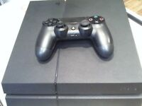 SONY PS4 CONSOLE, 1TB, HAS LEADS AND CONTROLLER