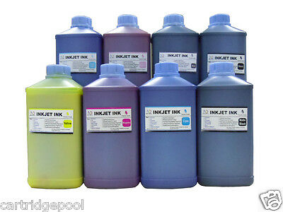 8 Quart Pigment refill ink for Epson Pro 7800 9800 7880 4800 Wide-format printer for sale  Shipping to Canada