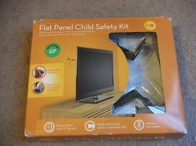 ( New ) Omnimount Essential Flat Panel Child Safety Kit (Protects children & pet)