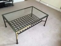 Ikea Glass Coffee Table