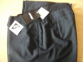 TWO PAIRS OF LADIES WORK TROUSERS SIZE 12 LEG 29 BRAND NEW