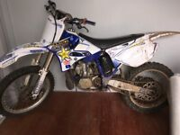 Yz250 two stroke 2005