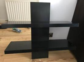 Double black shelf
