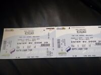 2 x NICKELBACK Tickets for sale £60