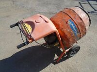 belle 240 volt cement mixer