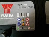 BMW AUDI VW FORD YUASA 096 STOP/START BATTERY NEAR NEW.