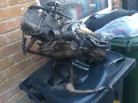 50cc 4t piaggio zip engine with exhaust 2008