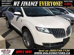 2011 Lincoln MKX AWD NAV PANO ROOF POWER LIFT GATE