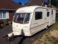 2001 Avondale landmaster 4 berth caravan with motor mover