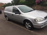 Vauxhall Astra van , 1.6 petrol / LPG , Dual fuel cheap to run