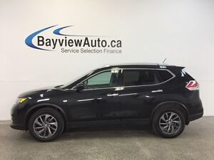 2016 Nissan ROGUE SL- AWD! HEATED LEATHER! PANOROOF! PARK AID!