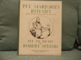 Pet Marjorie's Rhymes - Marjorie Fleming the Little Friend of Sir Walter Scott