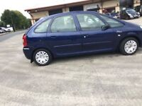 2005 Citroen XSARA PICASSO 20 hdi,,all major credit or debit cards accepted