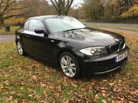2010 10 PLATE BMW 118d COUPE SPORT - £30 PER YEAR ROAD TAX