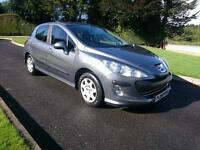 2010 PEUGEOT 308 1.6 HDI..FINANCE THIS CAR FROM £21 PER WEEK. FULL SERVICE HISTORY.MINT CONDITION.