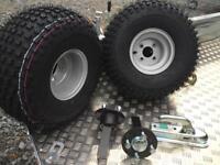 ATV quad trailer kit