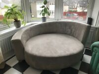 Free curved window sofa for collection - RESERVED PENDING COLLECTION