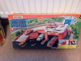 Match box 1990 fire station