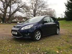 Ford Cmax 2012 - Full Ford Service History, Bluetooth, DAB, AirCon and Windscreen defrost!