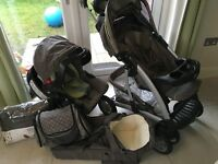 Excellent Graco quattro tour deluxe system Travel system