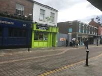 Fish and chips Shop for sale in very busy road in darlington Town Centre