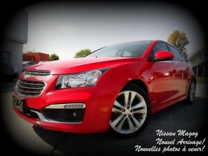 2015 Chevrolet Cruze 2LT + RS + CUIR + TOIT + CAMÉRA + PIONEER!!