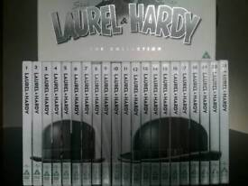 LAUREL & HARDY THE COLLECTION (21 DISC BOX SET) DVD
