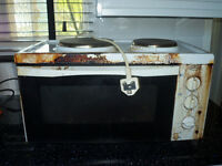 counter top oven grill hob