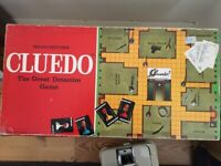 classic family board games - Monopoly and Cluedo