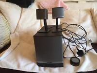 Bose companion 3 series 11 surround sound