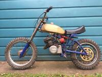 Italjet kids scrambler mx 1970s spares or repairs motocross vintage retro custom rare
