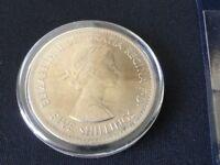 1960 Elizabeth II Crown / 5 Shillings