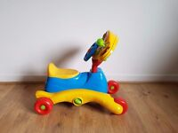 3-in-1 Grow And Go Ride On, very good cond