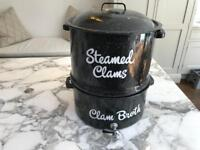 Vintage Lobster and Clam Pot