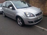 2007 57 Ford Fiesta 1.25 Zetec Silver Great spec